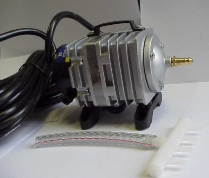 You can still buy piston air pumps, though the designs have improved.